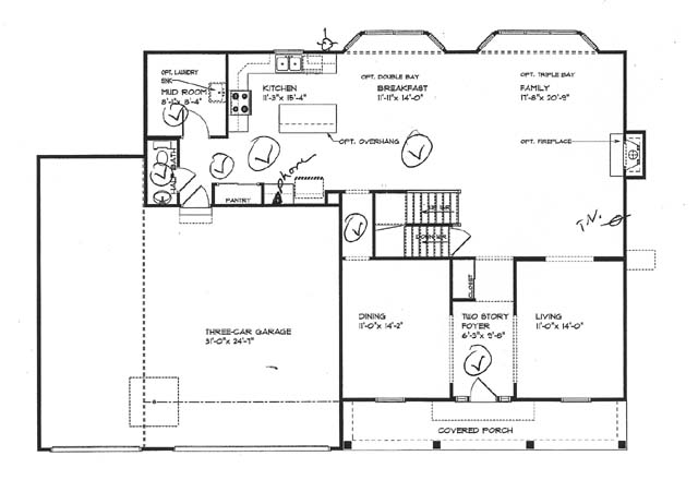 Floor plans image 1 of 5 for Home plan image
